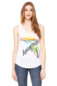 Florida Homegrown V-Neck Tank