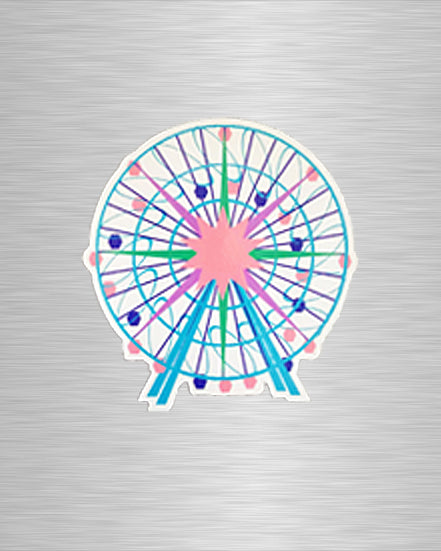 Ferris Wheel Vinyl Sticker/Decal