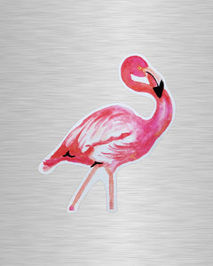 Flamingo Vinyl Sticker/Decal