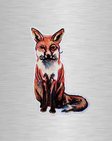 Foxy Vinyl Sticker/Decal