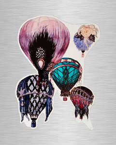 Great Gatsby Balloons Sticker/Decal