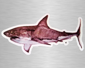 Great White Shark Vinyl Sticker/Decal