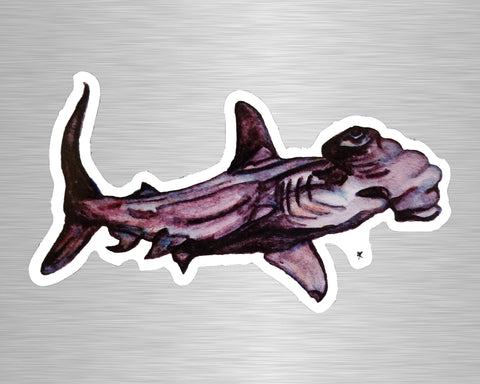 Hammerhead Shark Vinyl Sticker/Decal