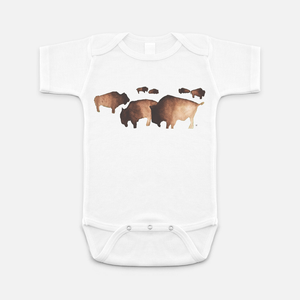 Buffalo Herd Onesie