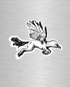 Hippogriff Vinyl Sticker/Decal