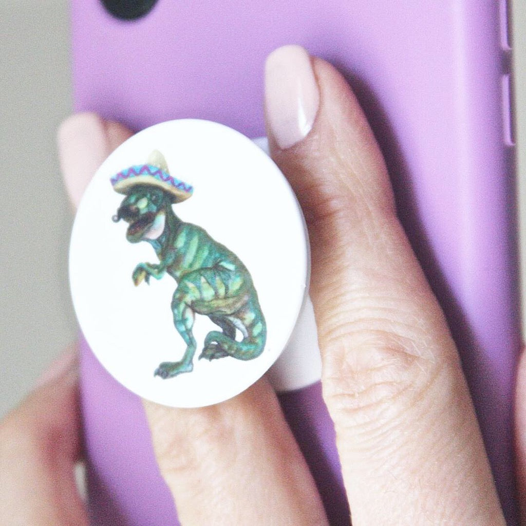 Taco Dino Pop-Socket