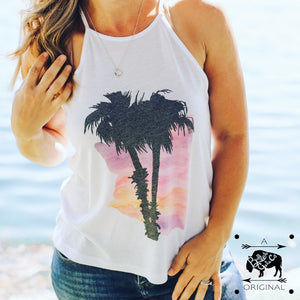 Arizona Summer Nights High Neck Tank