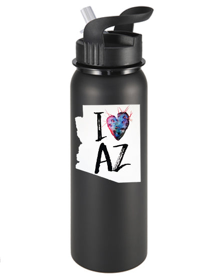 I Heart AZ Vinyl Sticker/Decal