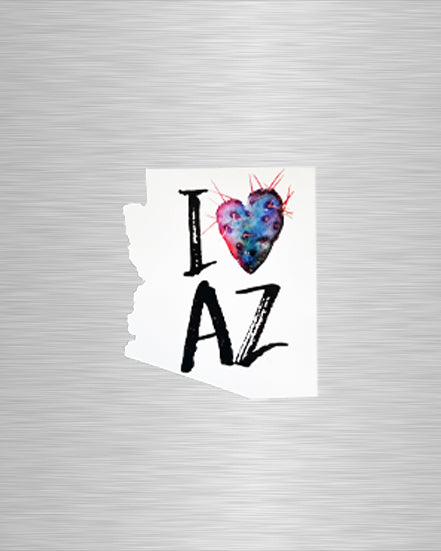 I Heart Arizona Vinyl Sticker/Decal