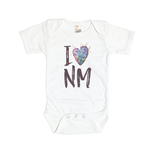 I Heart NM Baby Onesie