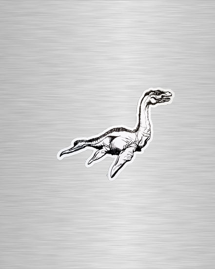 Loch Ness Monster/Kelpie Vinyl Sticker/Decal