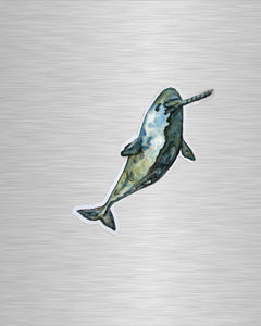 Narwhal Vinyl Sticker/Decal