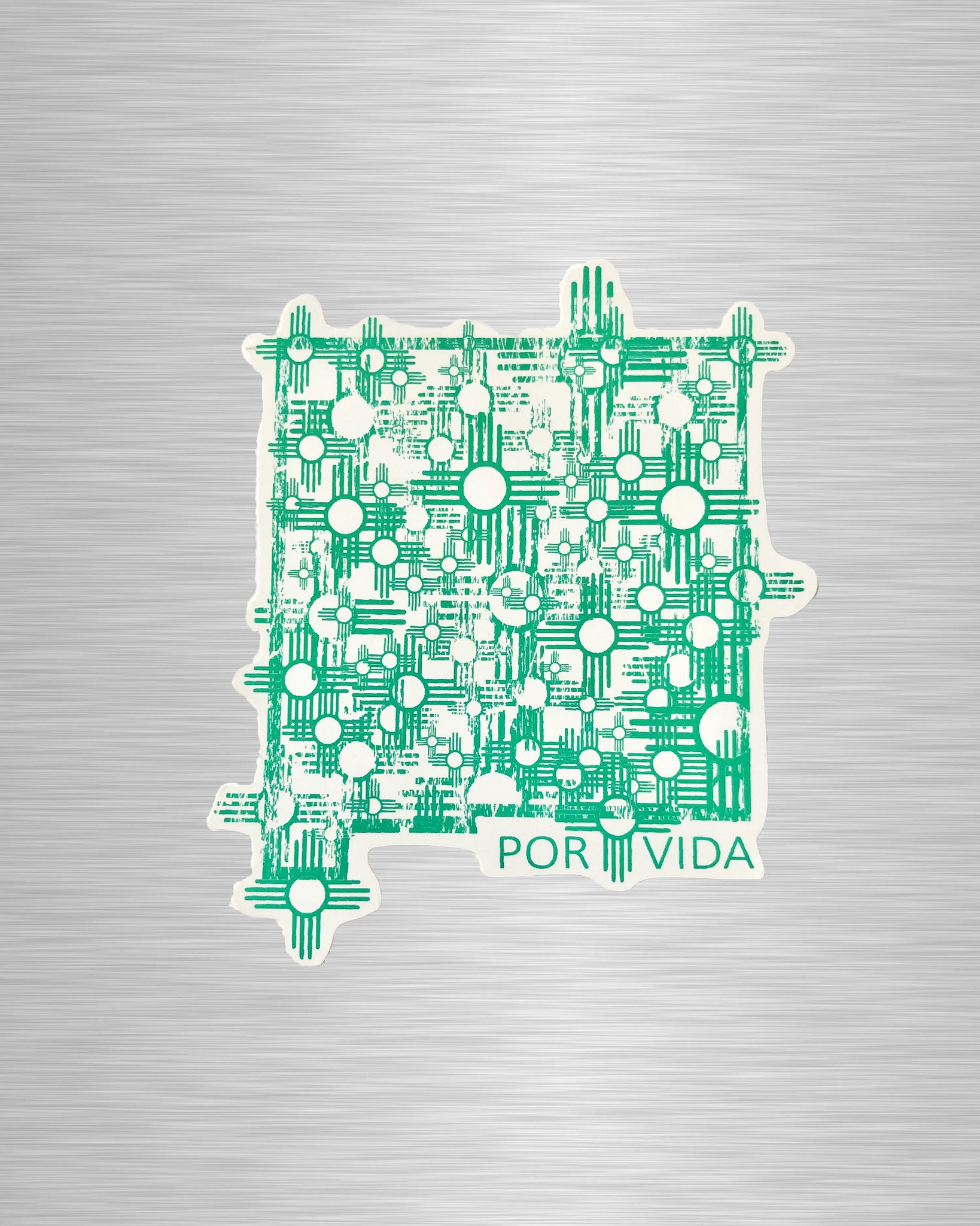New Mexico Por Vida Vinyl Sticker/Decal