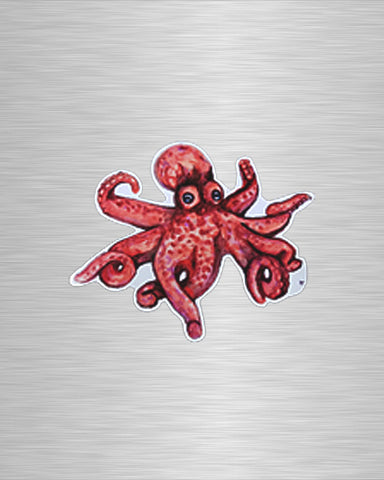 O is for Octopus Original Vinyl Sticker/Decal
