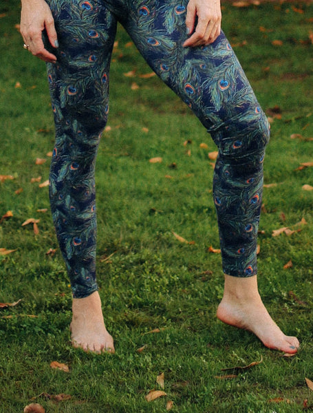 Peacock Feather Leggings