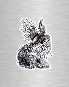 Phoenix Vinyl Sticker/Decal