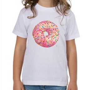 Pink Sprinkled Donut Toddler T-Shirt