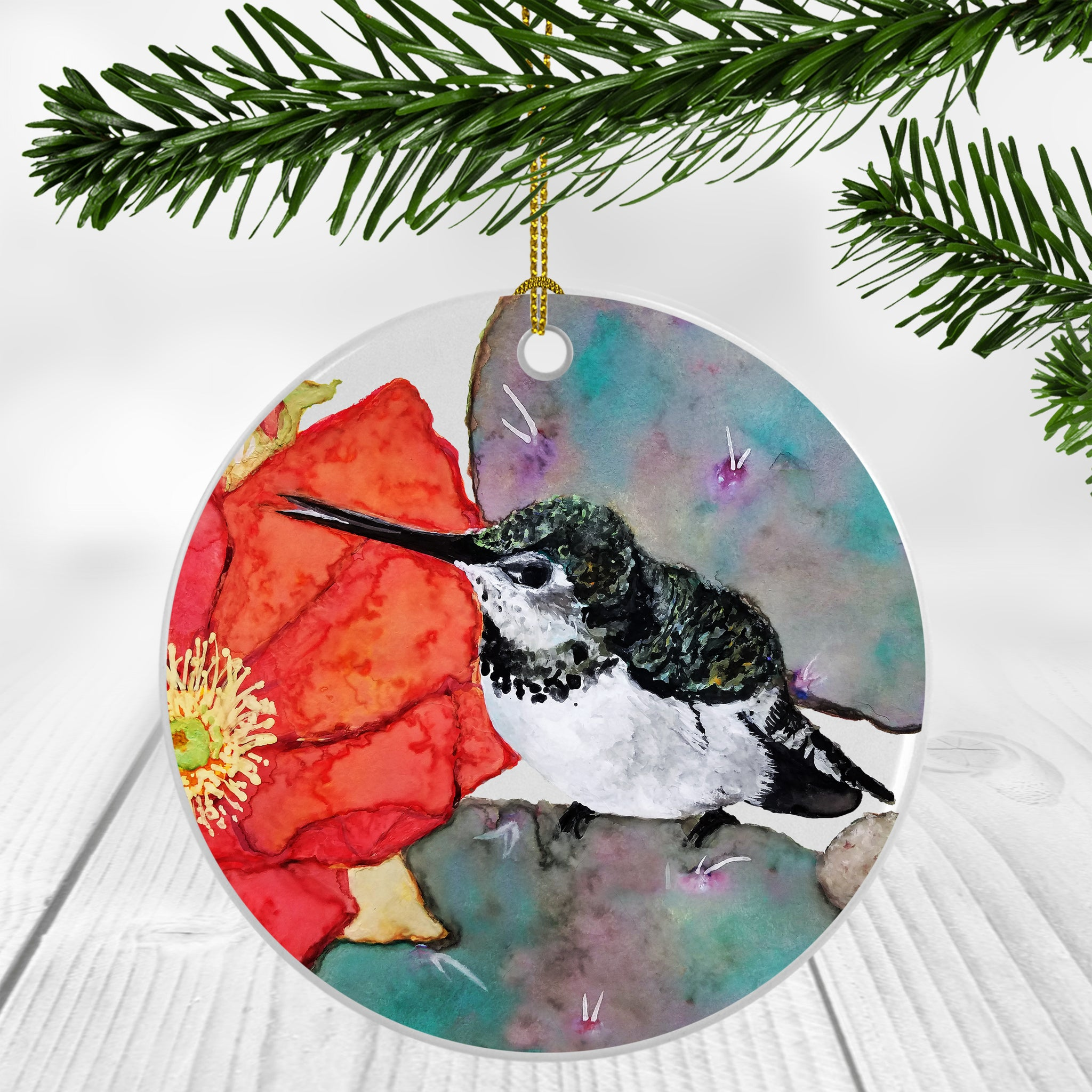 Piper Humming Bird Ornament