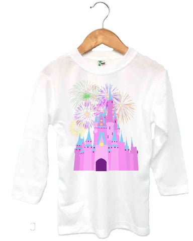 Princess Castle Toddler Long Sleeve T-Shirt