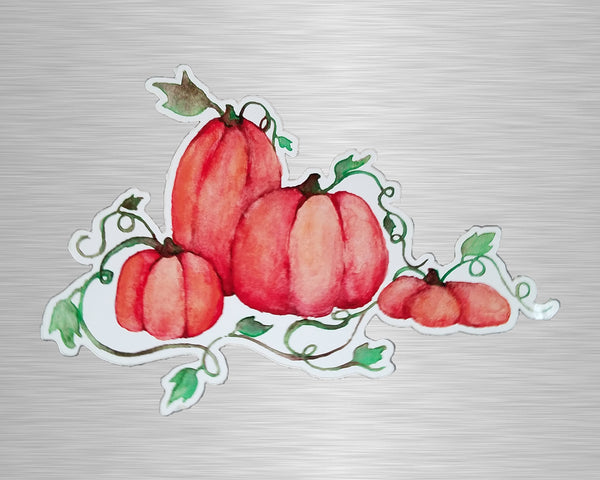 Pumpkins Vinyl Sticker/Decal