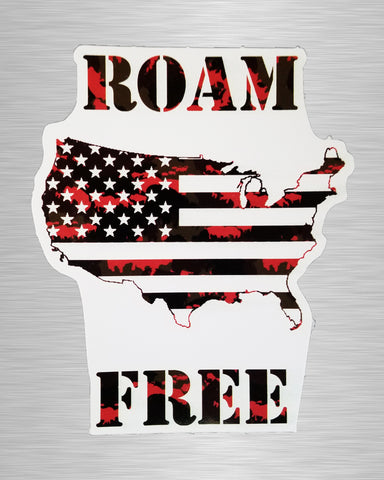 Roam Free Sticker/Decal
