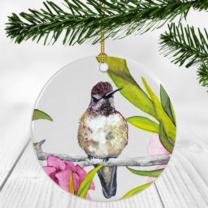 Hummingbird (Ruby) Ornament