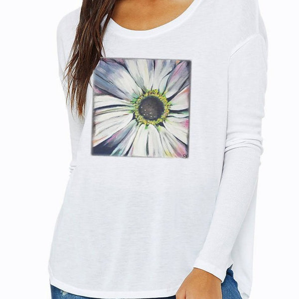 Rustic Daisy Long Sleeve T-shirt
