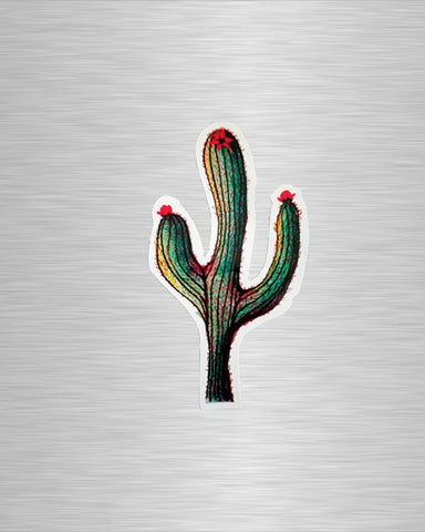 Saguaro Cactus Vinyl Sticker/Decal