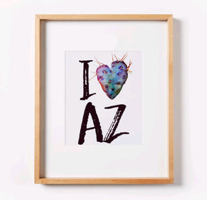 I Heart Arizona Print