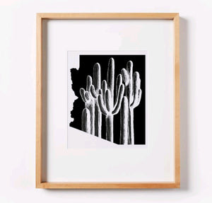 Saguaro Forest (solid) Arizona Print