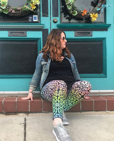 An Ode to Lisa Frank Leggings
