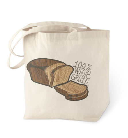 Wholegrain Bread Tote Bag