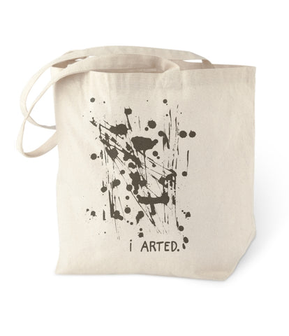 I Arted Tote Bag