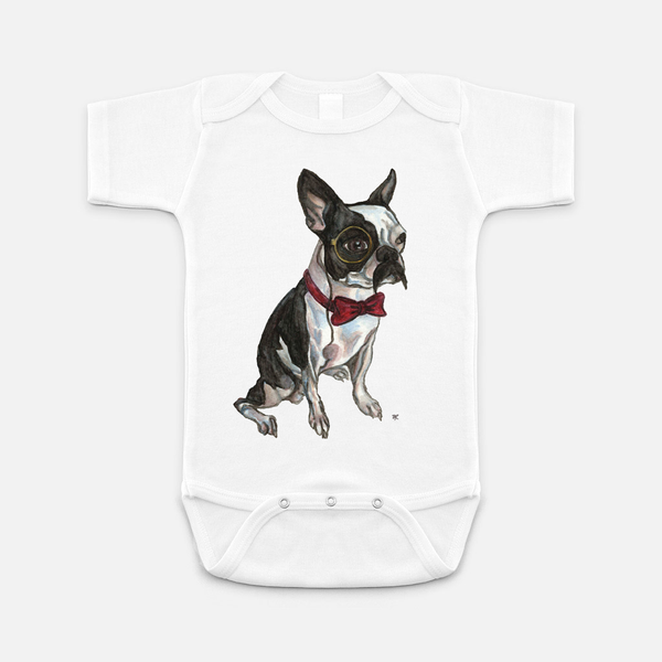 Stinky Mr. Pickles Baby Onesie