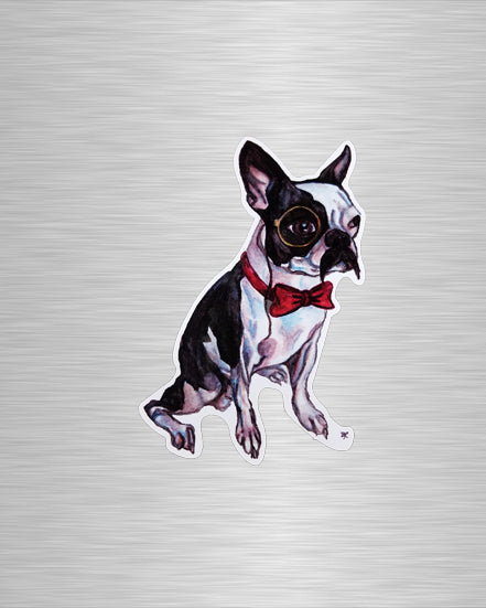 Good Boy, Mr. Pickles Vinyl Sticker/Decal
