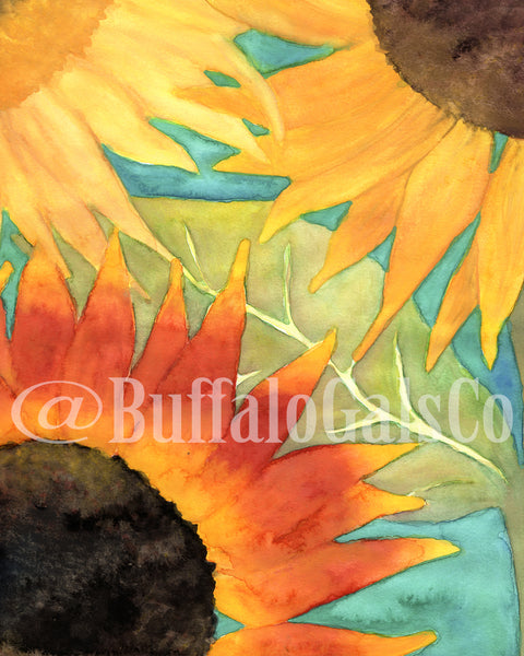 Sunflower Field Print