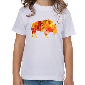 Sunset Poppy Toddler T-Shirt