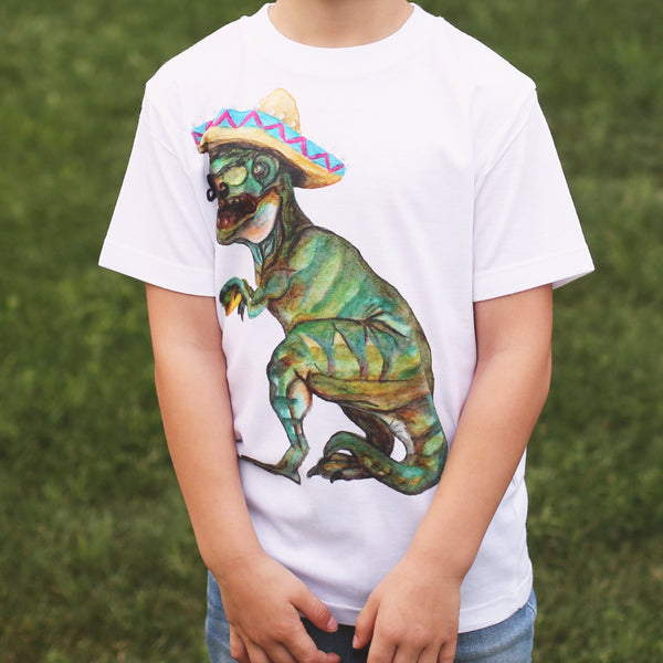 Taco Dino Toddler T-Shirt