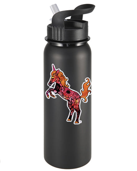 Tatted Unicorn Vinyl Sticker/Decal