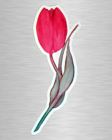 Tulip Vinyl Sticker/Decal
