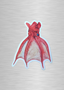 Vampire Squid Vinyl Sticker/Decal