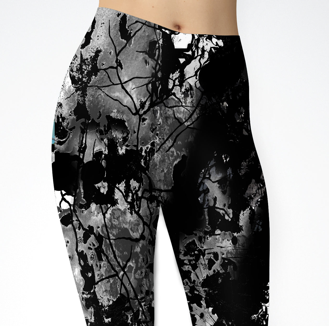 White Buffalo Turquoise Leggings