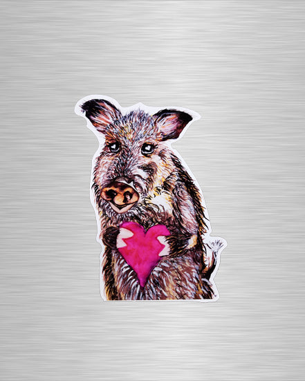 You Javelina My Heart Vinyl Sticker/Decal