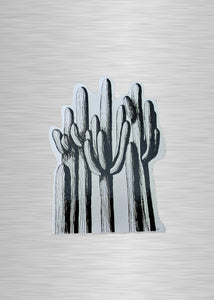 Saguaro Forest Vinyl Sticker/Decal