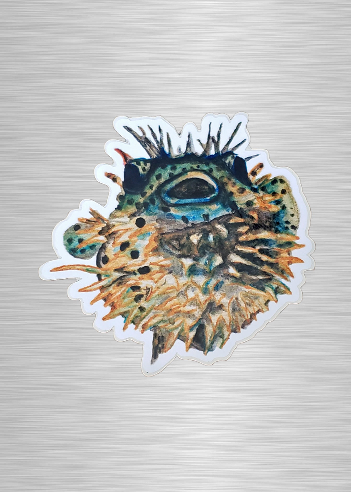 Puffer fish Vinyl Sticker/Decal