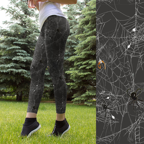 Spider Webs Leggings
