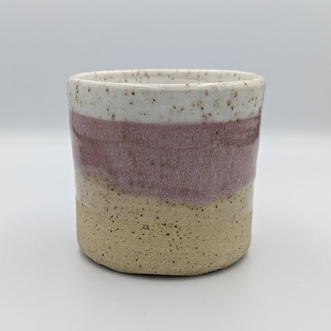 Pink Speckled Cup - Medium