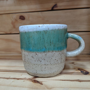Turquoise Speckled Mug - Large