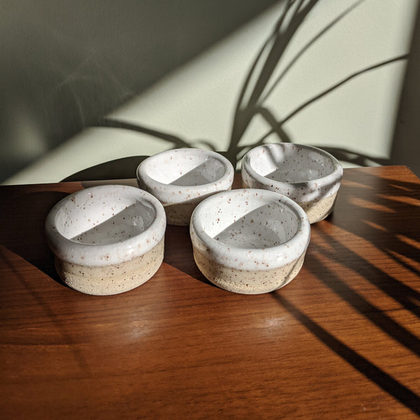 Speckled Tealight Holders