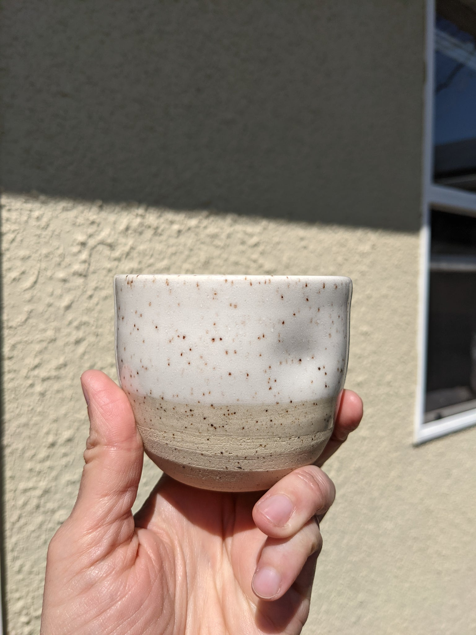 Speckled Small Dimpled Tumbler